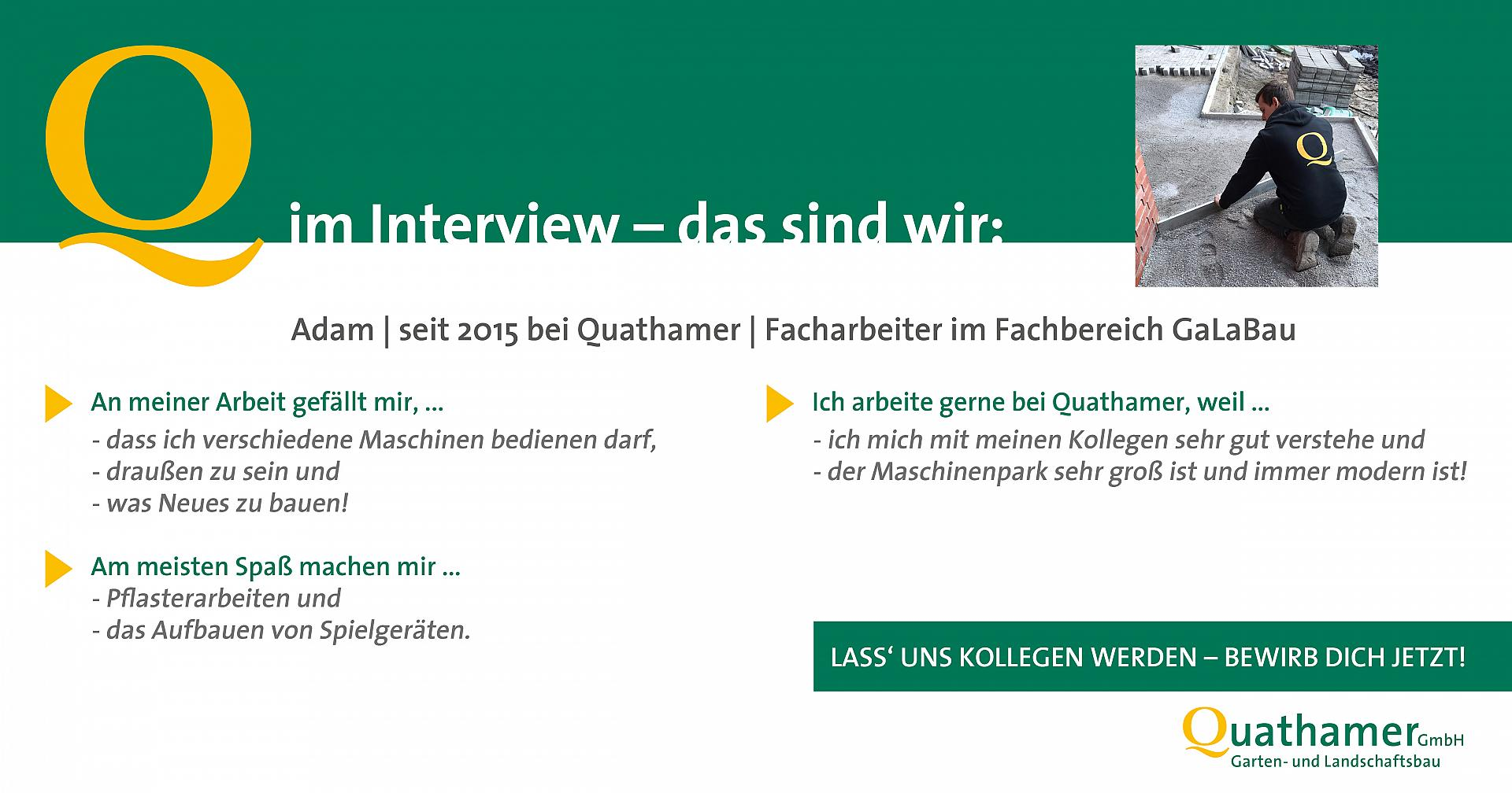 Interview mit Adam
