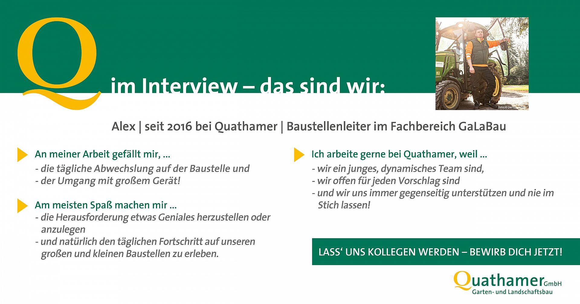 Interview mit Alex