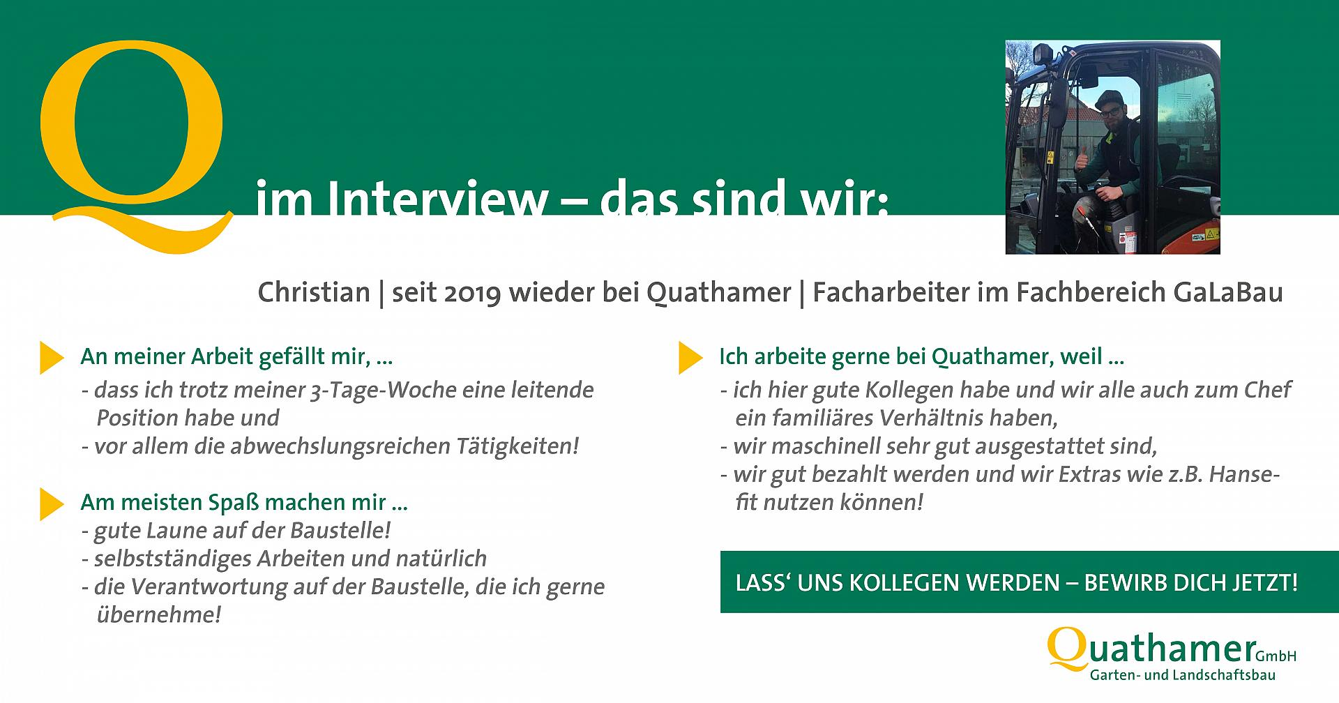 Interview mit Christian