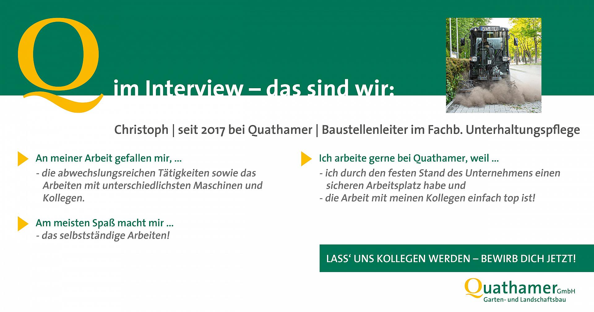Interview mit Christoph