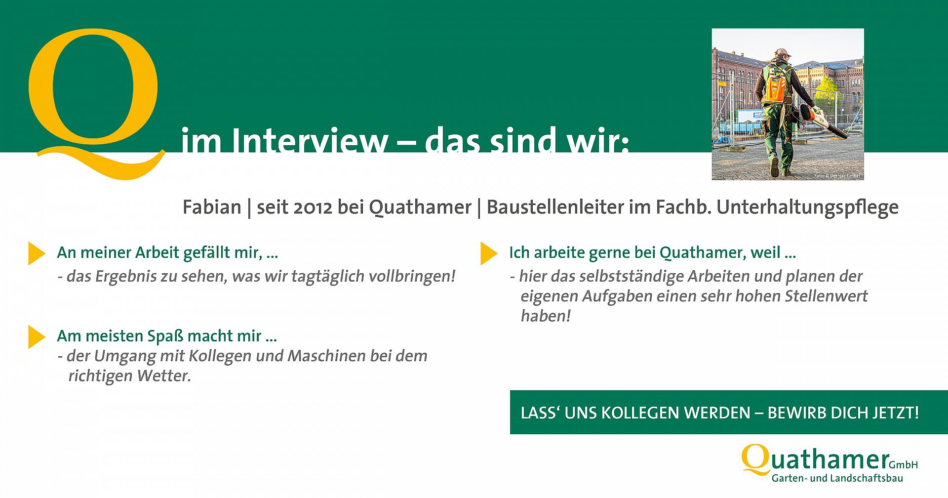 Interview mit Fabian