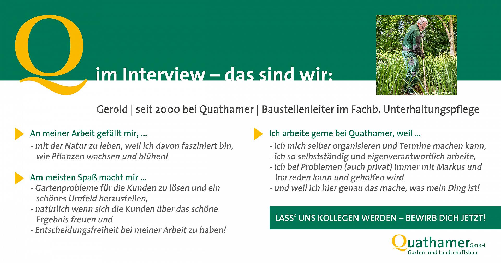 Interview mit Gerold