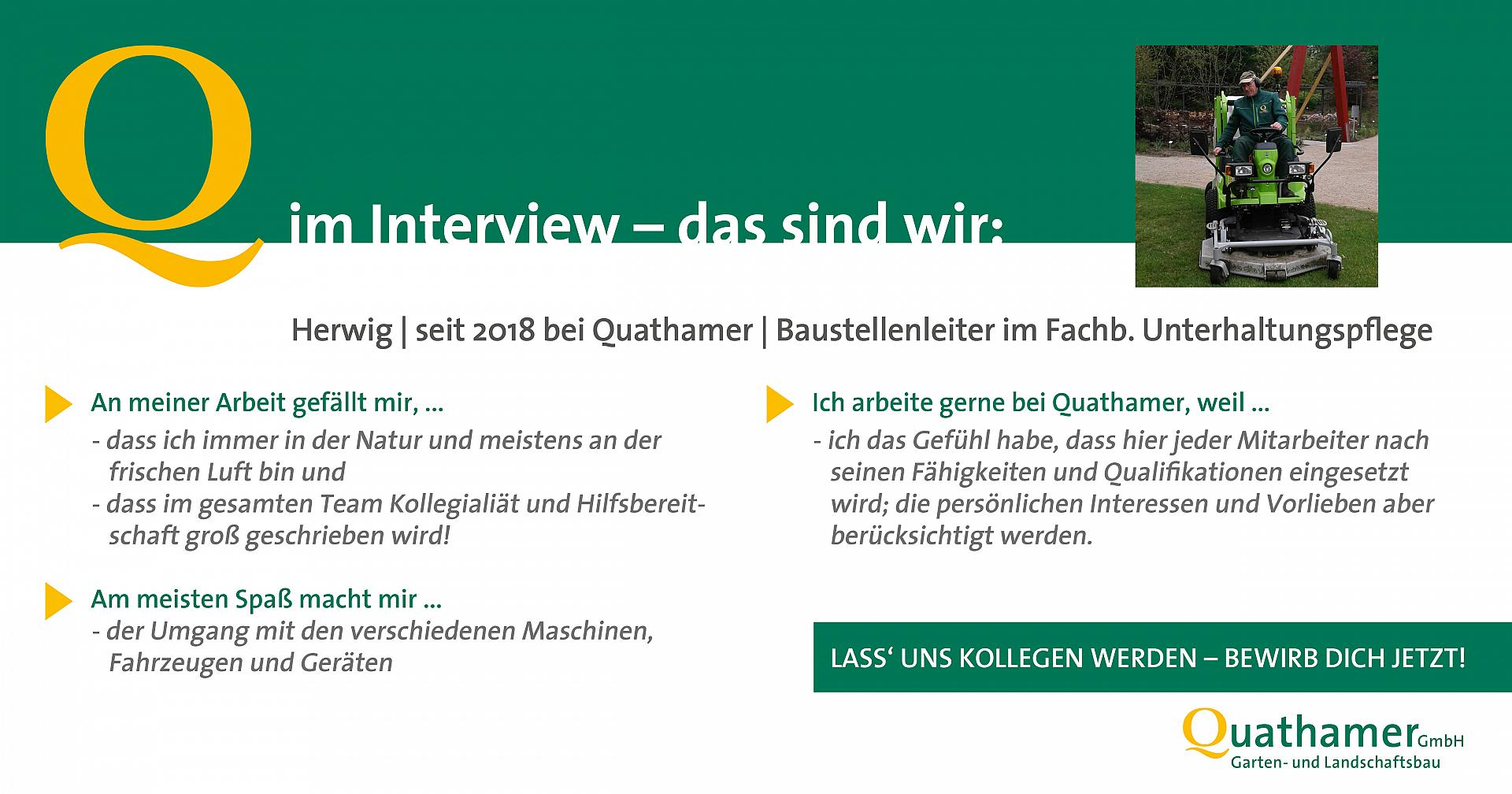 Interview mit Herwig