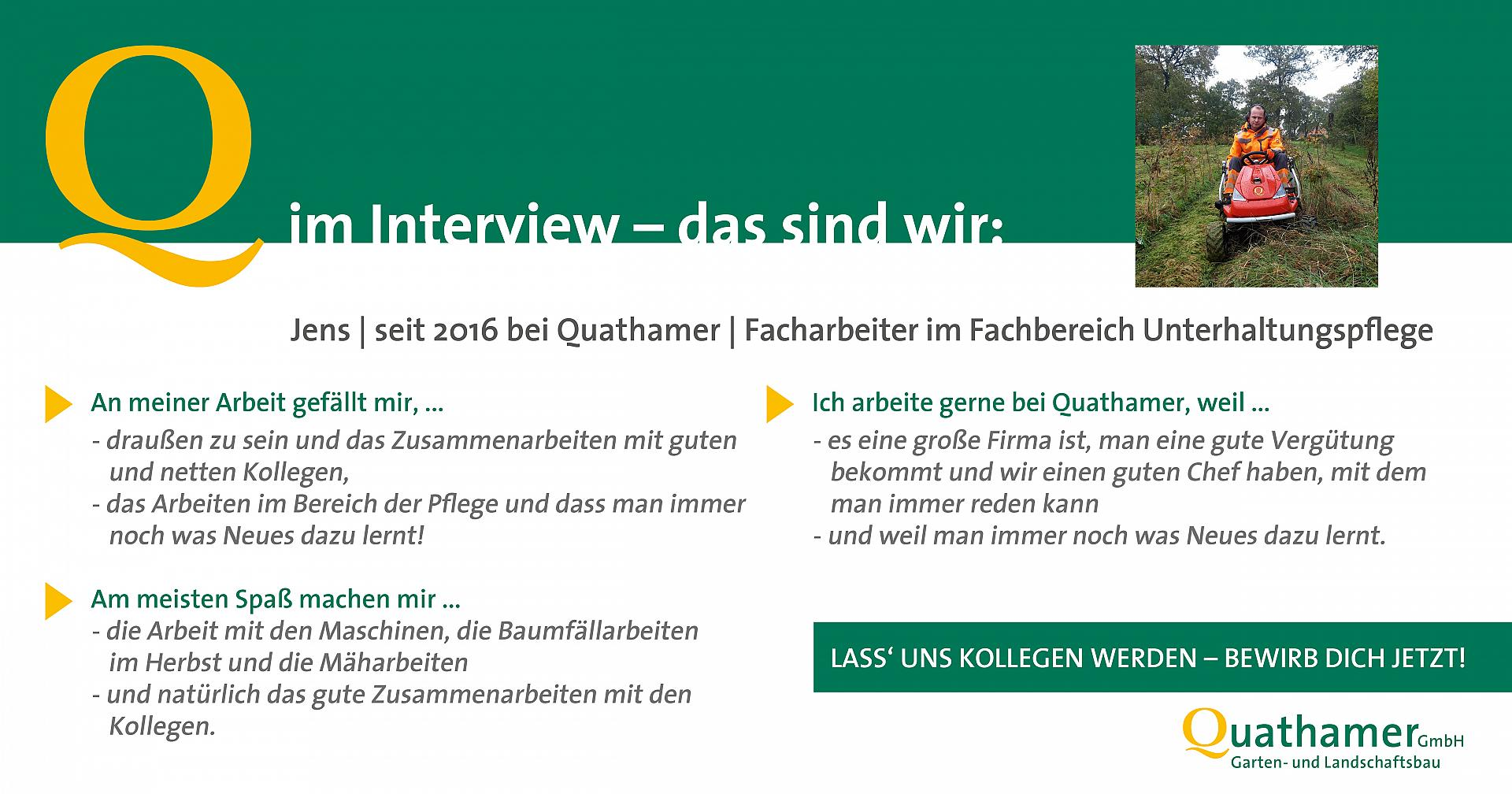 Interview mit Jens