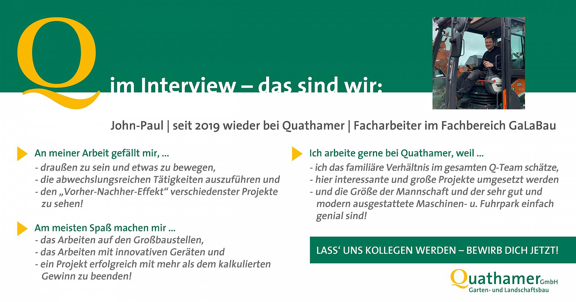 Interview mit John-Paul