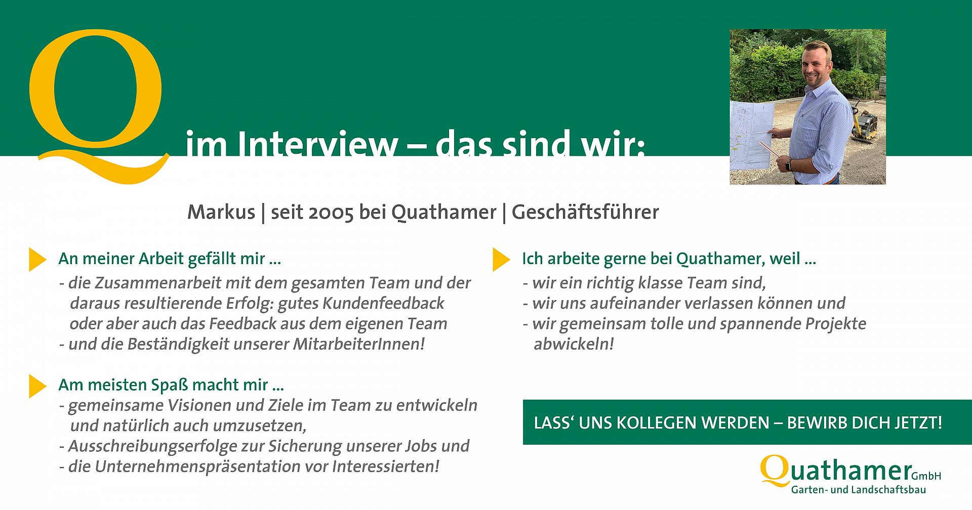 Interview mit Markus
