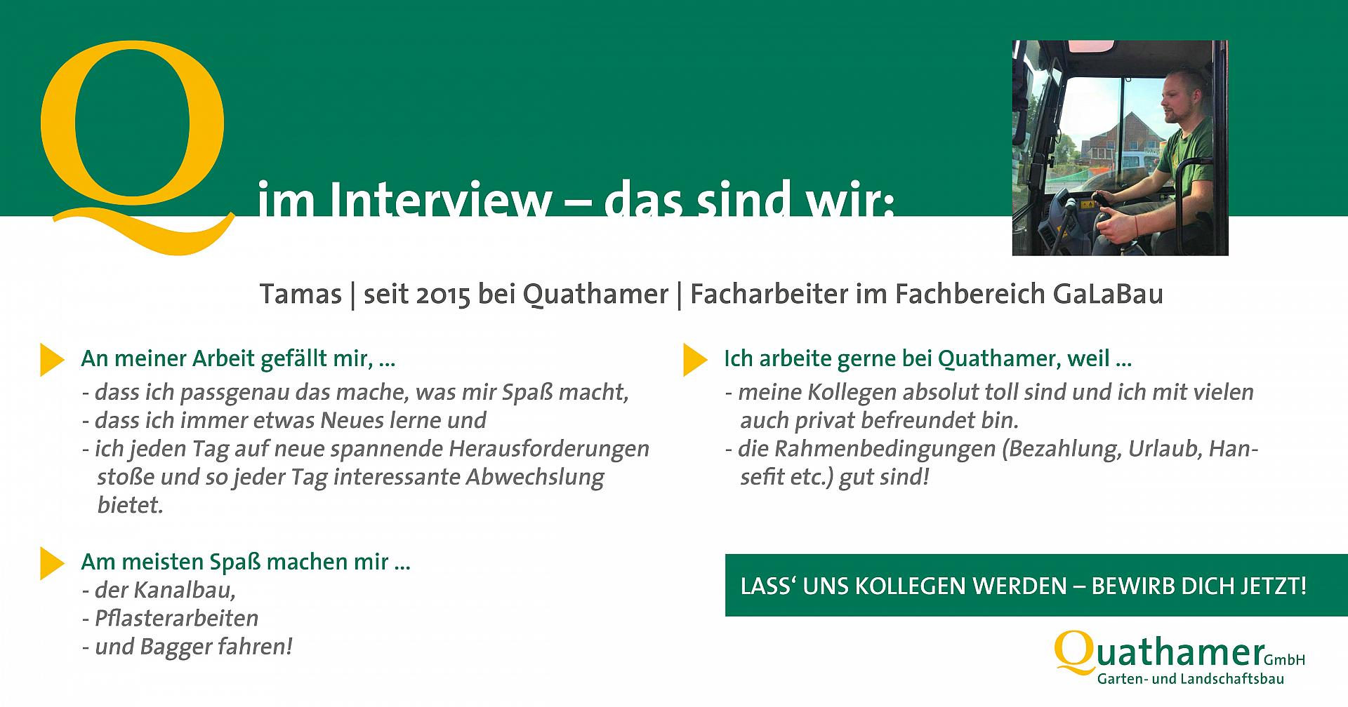Interview mit Tamas
