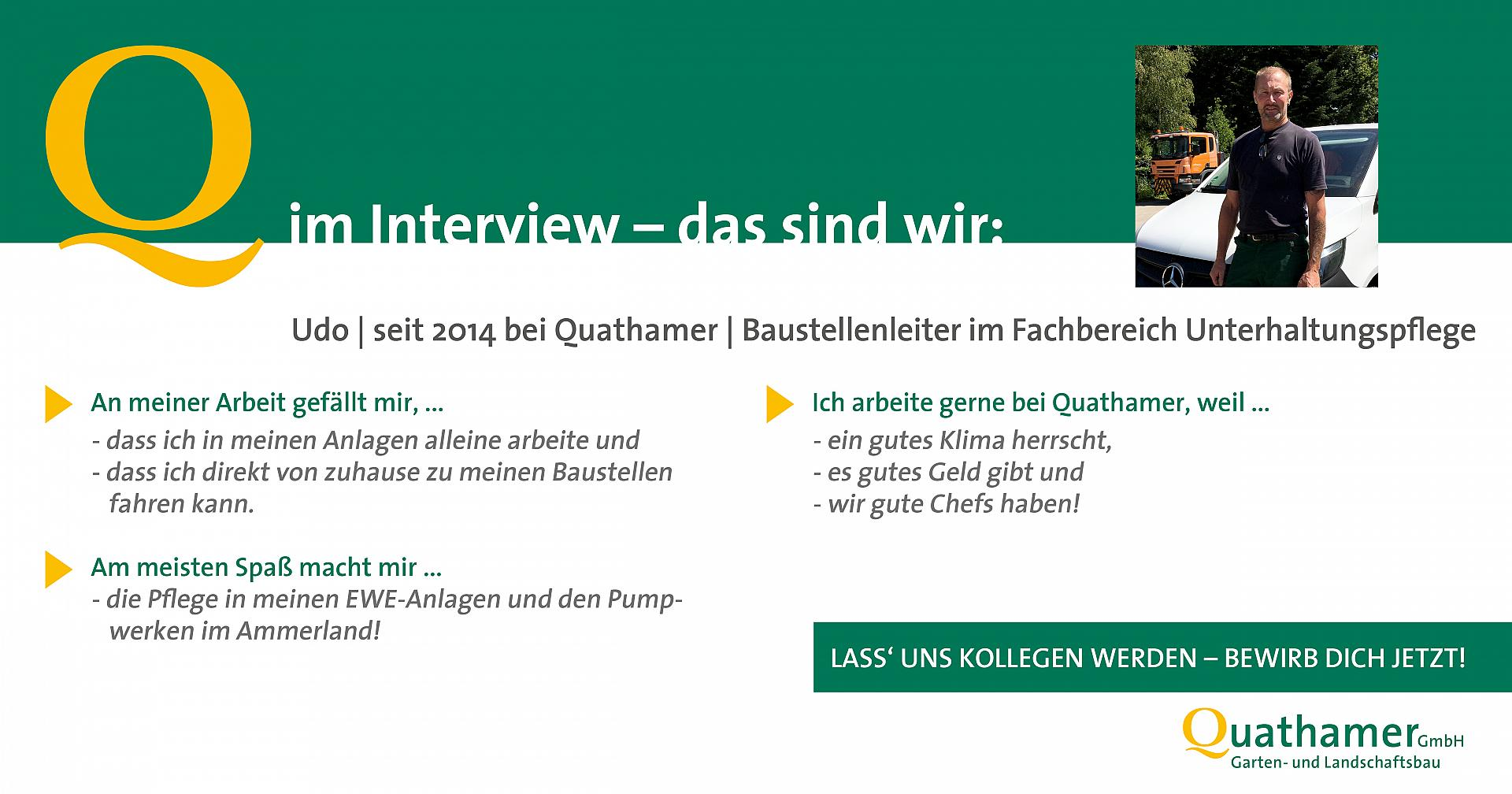 Interview mit Udo